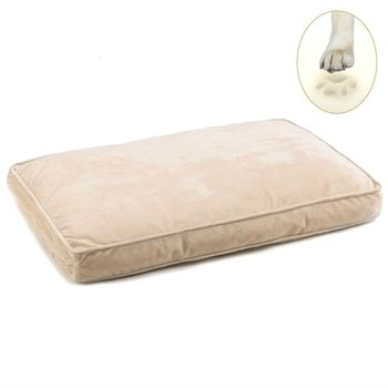 ivory memory foam dog beds