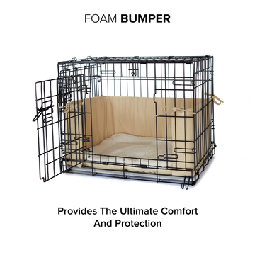 Plush Double Door Dog Crate Bedding Crate Bed Covers