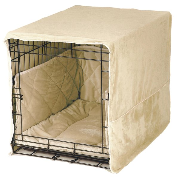 Crate bed 28 images hank rustic lodge dark wood crate for Crate and barrel dog bed