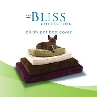 Plush Pet Bed Cover