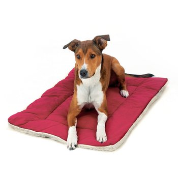 red cheap dog beds