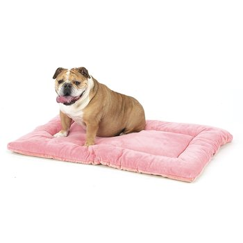 pink dog crate pads