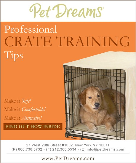 Crate Training Tips Brochure